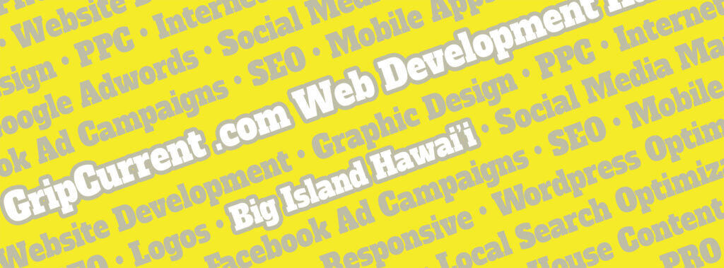 Web Developer Big Island Hawaii • SEO • Local Search • PPC