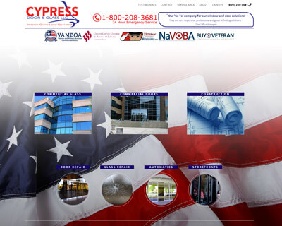 Commercial Glass Company Websites & SEO