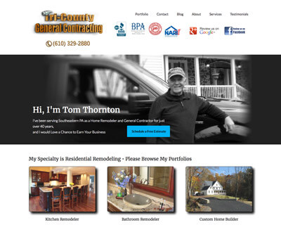Construction Company Websites & SEO